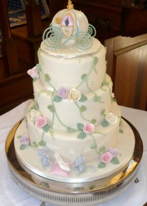 GTB Cinderella Wedding Cake 3