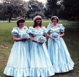 Super Ugly Bridesmaid Dresses