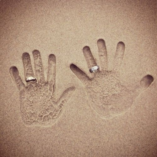 Beach Wedding Rings 0 Vintage Globetrotting Bride Wedding Ring